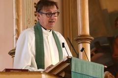 Messussa saarnasi kirkkoherra Harri Joensuu